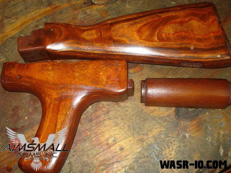 How to Refinish the AK 47 Stock  Picture by AIMSMALL Arms Inc. Refinishing AK 47 Woodwork   WASR 10 COM