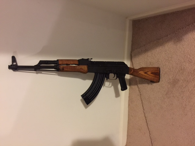 AK Dust Cover won't stay on
