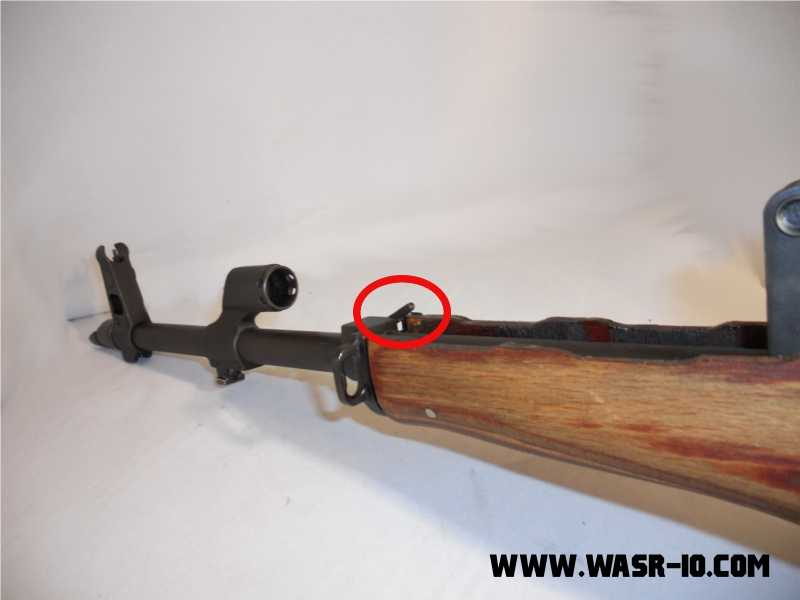 AK Lower Hand Guard Disassembly