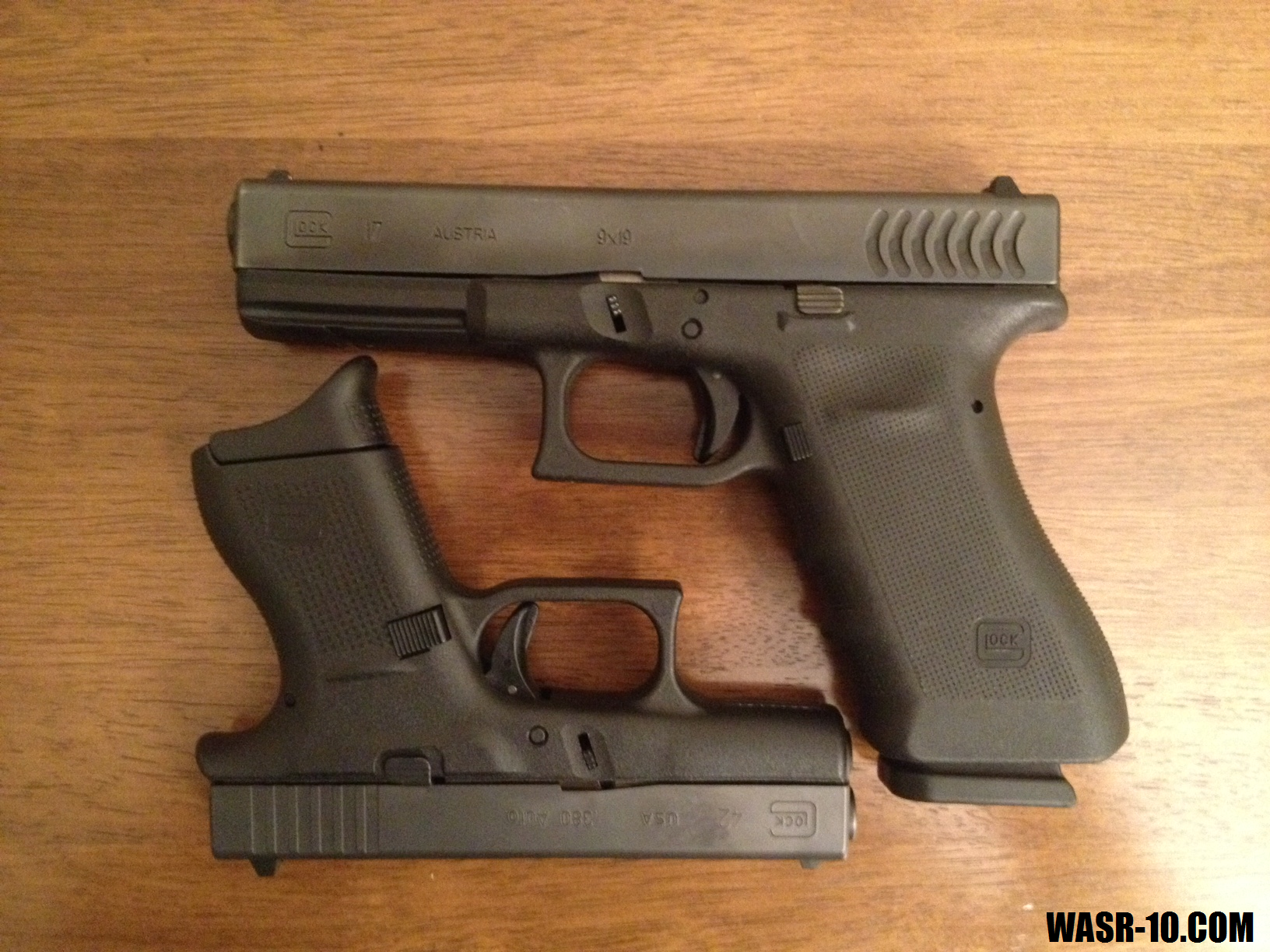 Glock 42 vs. Glock 17