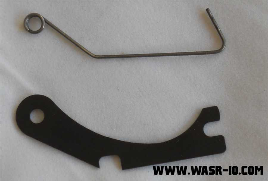 Krebs Pin Retainer Plate vs. Original WASR-10 Shepherd's Crook