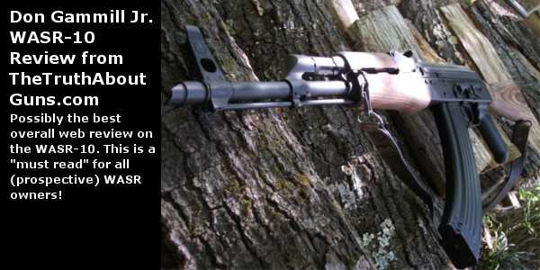 One of the best WASR-10 use reviews we found!