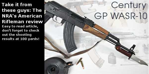 NRA's American Rifleman's review of the WASR