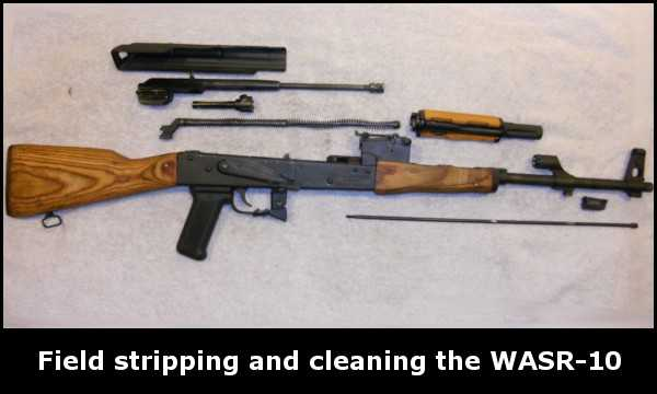 Cleaning the WASR-10
