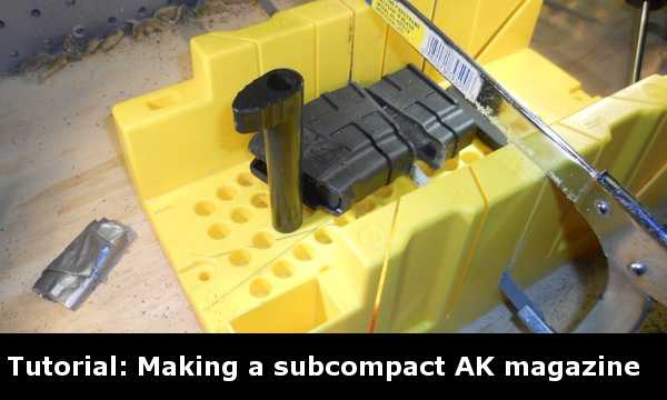 Tutorial: Making a Sub Compact AK magazine