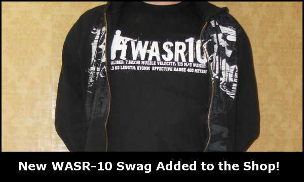 New WASR-10 Swag!