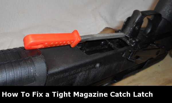 AK-47 Magazine Catch Latch Fix