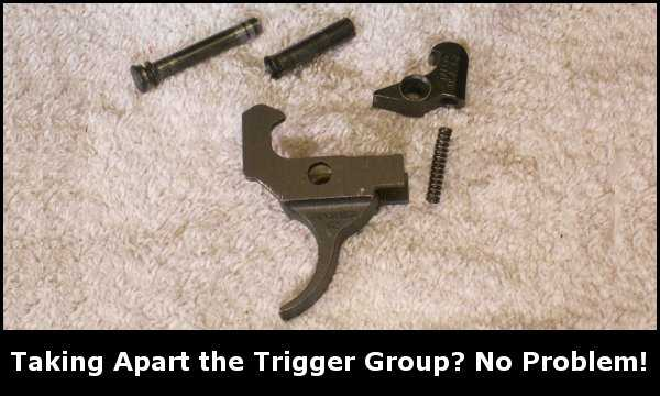 AK Trigger Group Removal