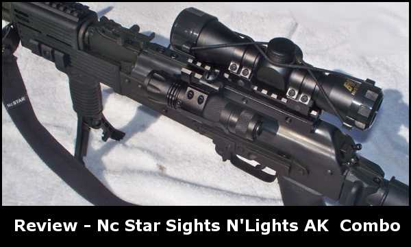 Nc Star Sights N'Lights AK Combo Review