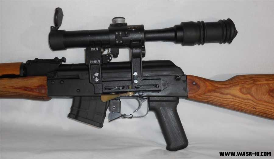 POSP 6X24 1000M Dragunov mounted Scope on GP WASR-10/63