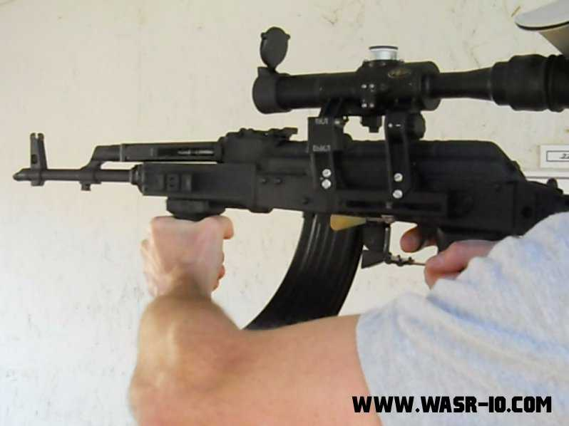WASR-10 With POSP Scope and Dublin AK Systems RCS