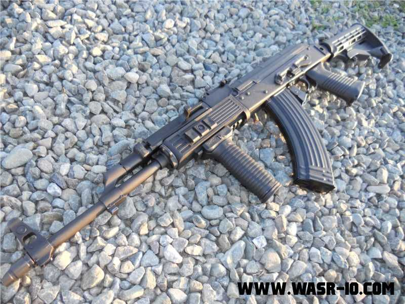 Dubin AK Systems RCS on WASR-10.