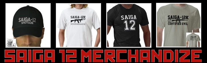 Buy Saiga 12 Merchandise