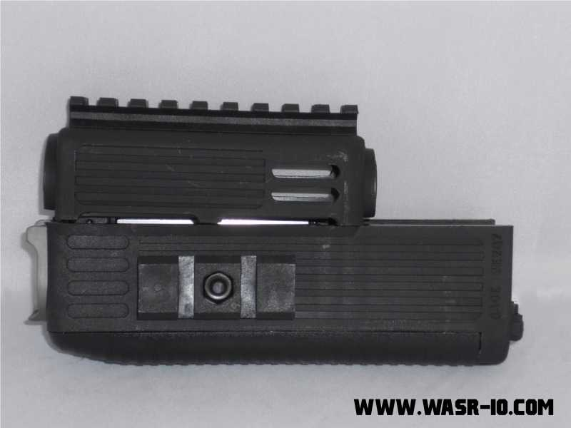 TAPCO INTRAFUSE AK-47 Quad Rail Hand guard Installation