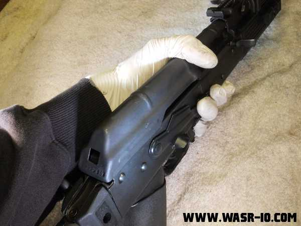 WASR-10 Trigger Group assembly