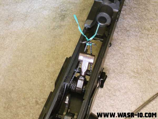 Disassemble your WASR-10 Trigger Group | WASR-10 COM