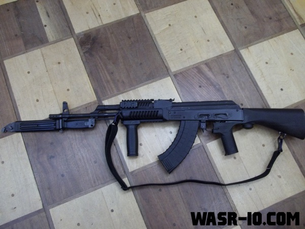 SlideFire on the WASR-10