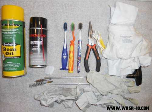 WASR-10 Cleaning Sundries