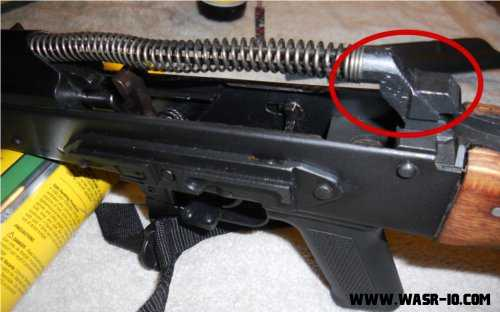 Removing the Recoil Spring on the WASR-10