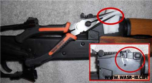 WASR-10 Upper and Lower Hand Guard Disassembly | WASR-10 COM