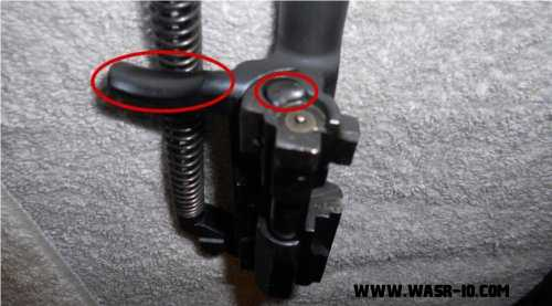 Correct Bolt Assembly on the WASR-10