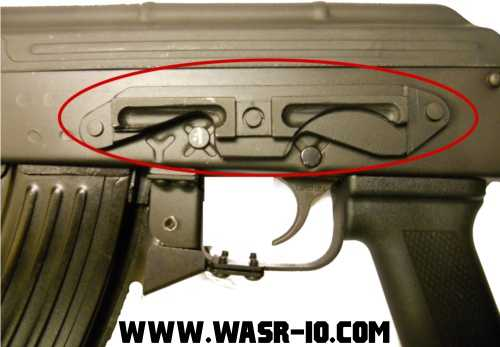 WASR-10 Scope rail - Mount for PSO-1 type scope
